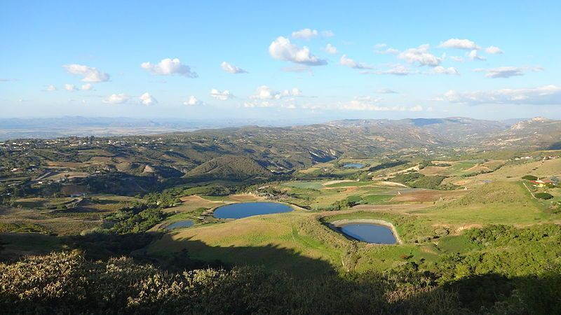 Panorámica desde la carretera a Cubiro