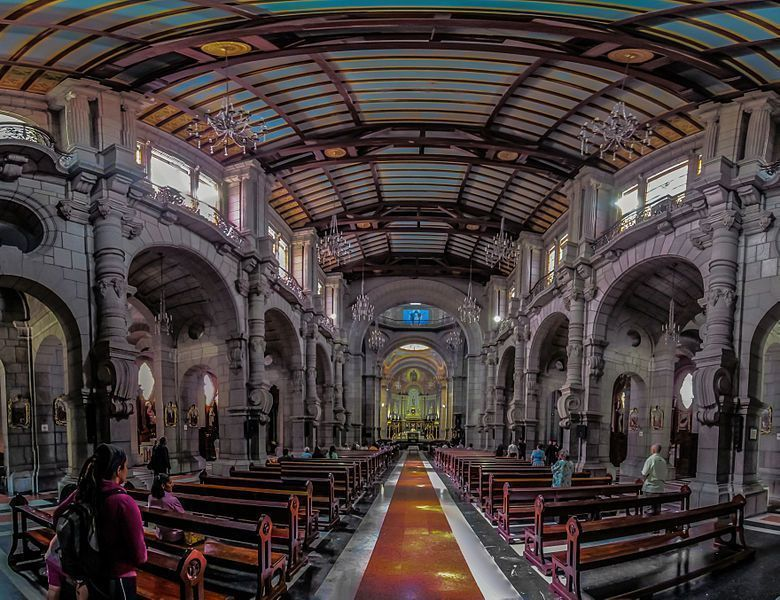 Interior de la Catedral Metropolitana de Mérida