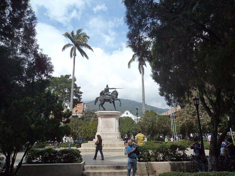 Plaza Bolívar de Mérida