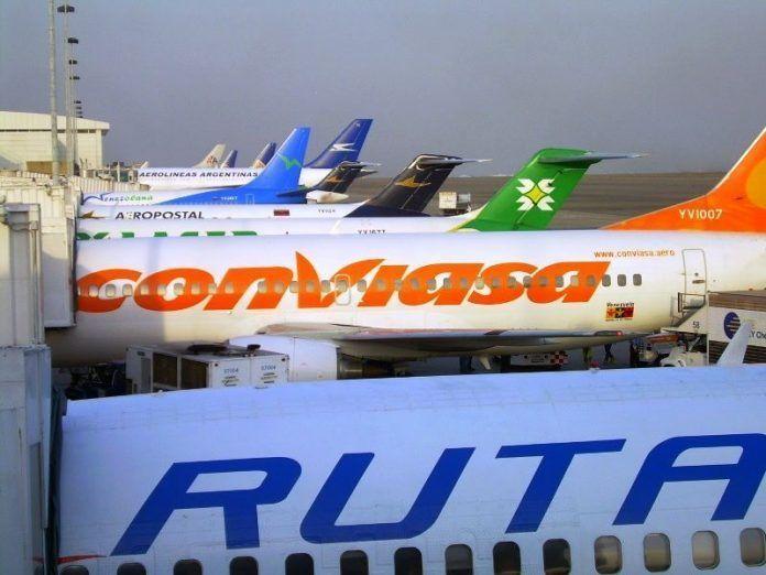 Suspensión de vuelos nacionales y cierre del Metro de Caracas