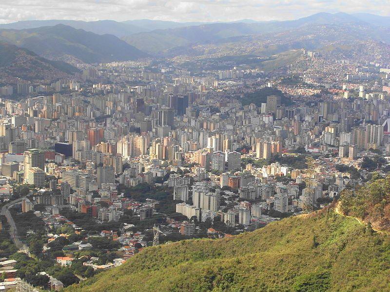 Vista de Caracas desde el Ávila