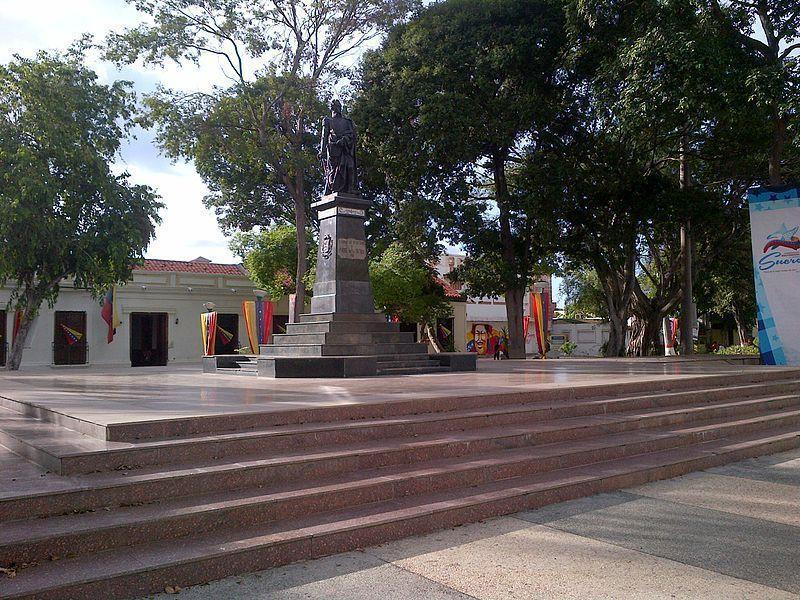Plaza Bolívar de Cumaná