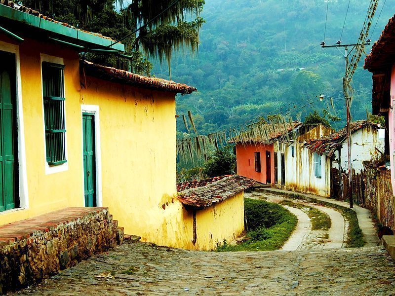 Un rincón del pueblo de Jají