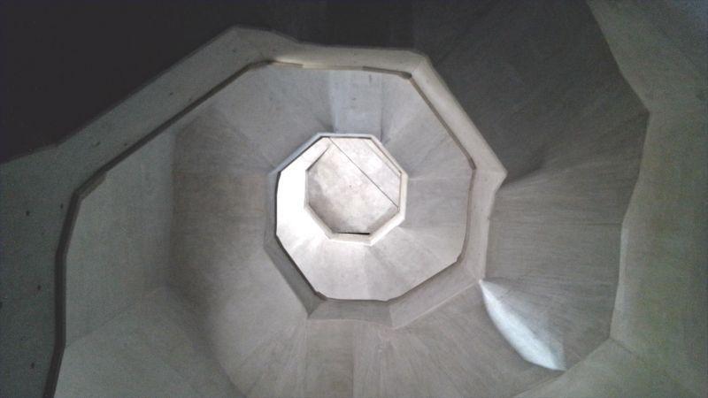 Desde las escalinatas