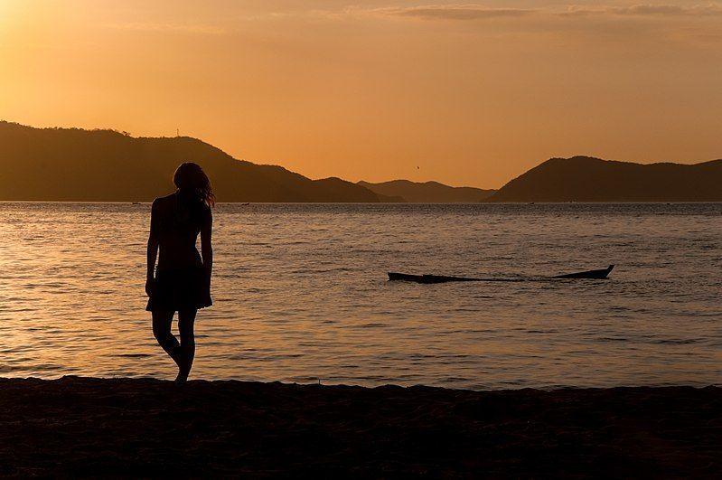 Atardecer en Playa Colorada