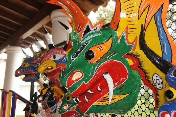 Máscaras de Diablos Danzantes de Yare