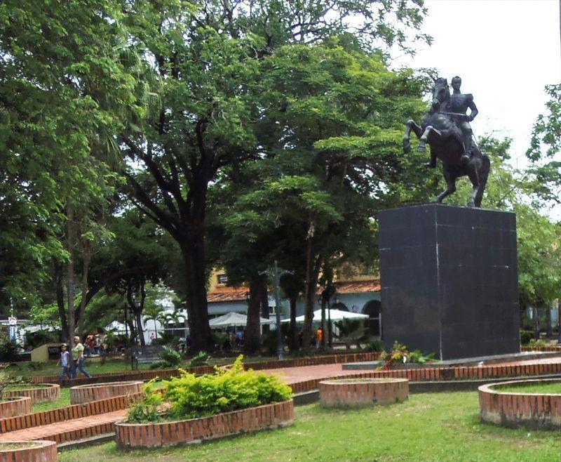 Plaza Bolívar de Barinas