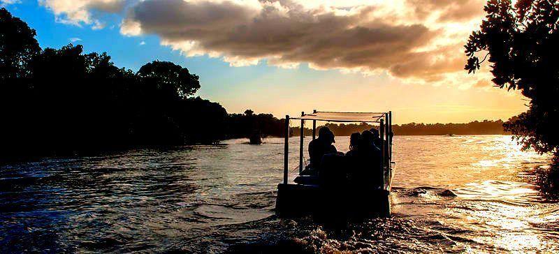 Atardecer en la Laguna de La Restinga