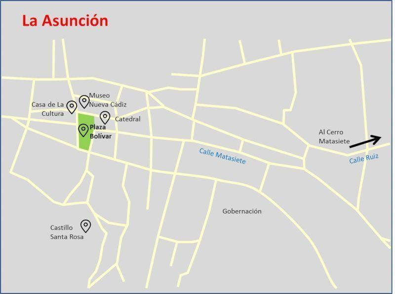 Plano de la Ciudad de la Asunción