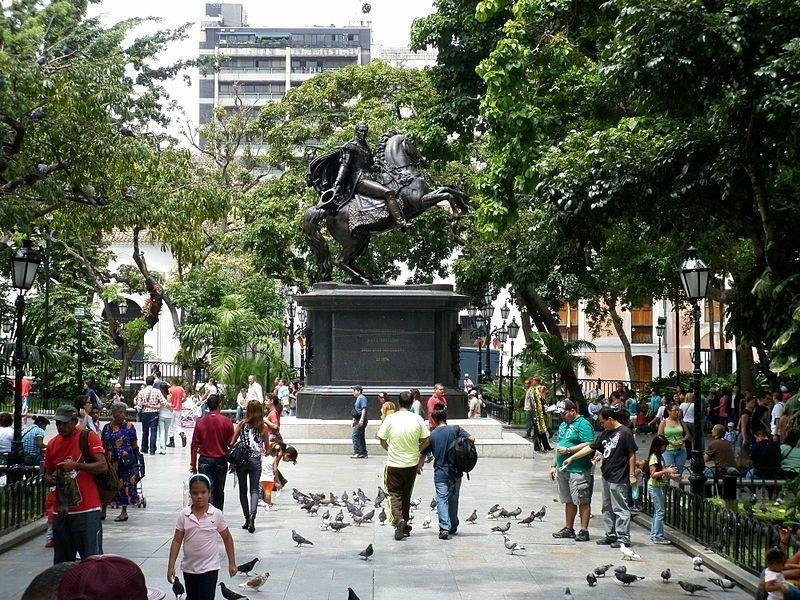 Plaza Bolívar de Caracas