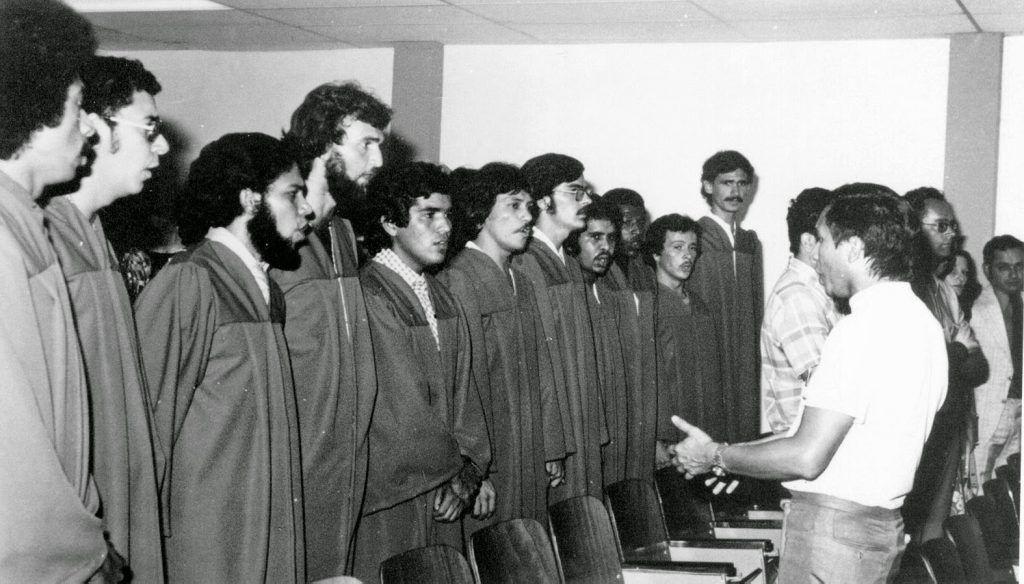 Las Voces Ocuras UCV en sus inicios