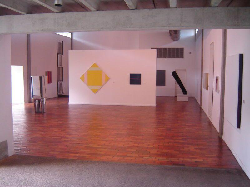 Interior del Museo de Arte Moderno Jesús Soto
