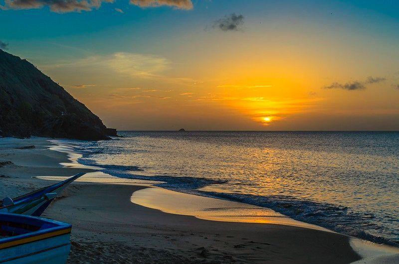 Atardecer en Playa Caribe