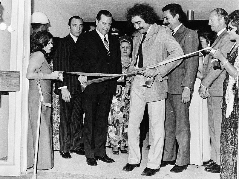 Jesús Soto y Rafael Caldera inauguran el Museo