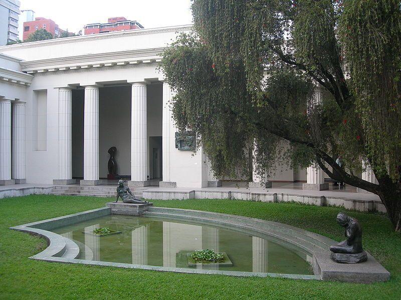 Interior de la antigua sede de la Galería de Arte Nacional