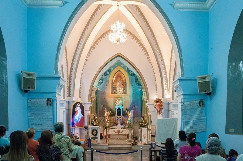 Interior de la Basílica de Nuestra Señora del Valle